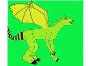 Ödleinspererad drake 2