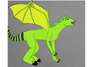 Ödleinspererad drake