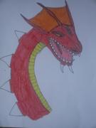 Rött drakhuvud