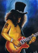 Slash on stage