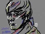 Snabbporträtt av Justin Bieber