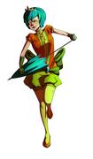 Princess bella and her umbrella