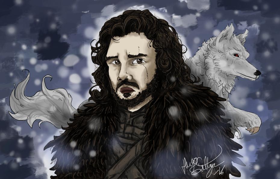 Jon Snow, Kung Kråka