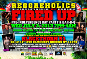 July 3, 2013 Reggaeholics in Queens, NYC