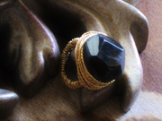 Blacque Star Wire Wrapped Ring