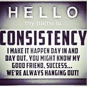 Hello My Name is Consistency...