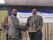 Asghar Aboobaker with Dr. Shamsul Haq