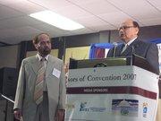 Dr. Shamsul Haq with Riaz Haq