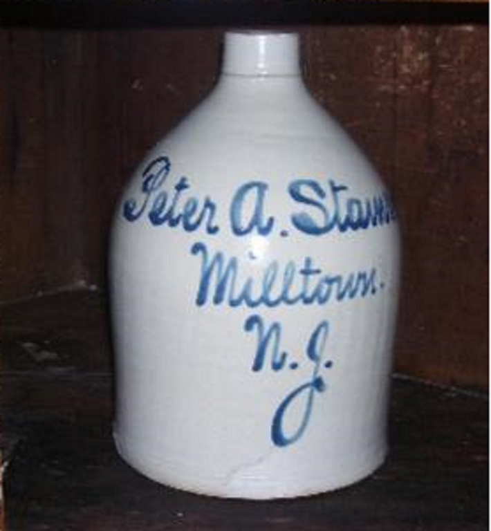 Peter A. Stamm beer jug