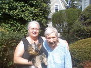 Me, Momma, and 'Peppy Puppy'