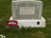 Tim's Grave on the annversary of his death 0517121141