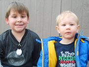 The two oldest grandsons