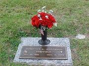 Mother's Headstone..