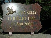 Lisa's plaque
