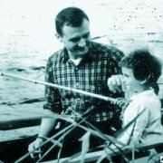Stan, Bev - Fishing - Denmark - 1958
