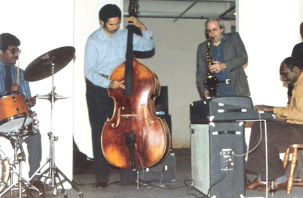 FRANK GANT, LARRY RIDLEY, ME, & HAROLD MABERN.  THEY WERE VERY PATIENT WITH ME.