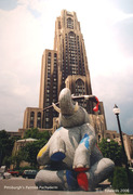 Pittsburgh's Painted Pachyderm
