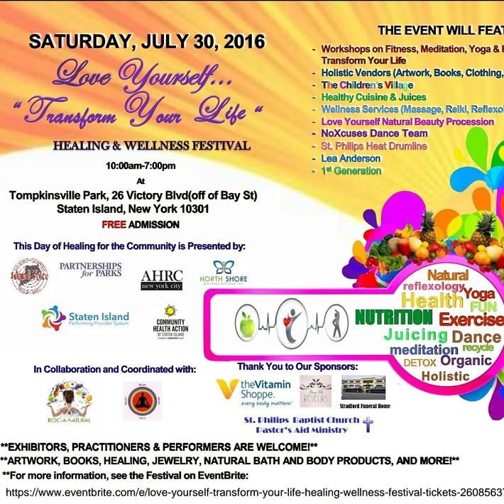 Love Yourself-Transform Your Life Health and Wellness Festival