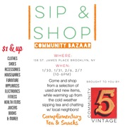 """""""Shop and Sip"""" this weekend at The Temple of Illumination!!"""