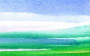 Western Washington State watercolor