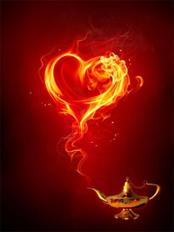 Fire Heart Magic!
