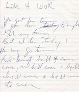 PENNED BY JIMMY MILLER---A SONG WE CO WROTE THE LYRICS TO