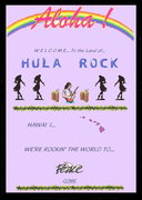 Hula Rock Welcome Poster