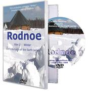 Kin's village Rodnoe. Winter