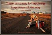 happy is the way