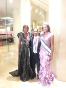 Princess Harakawa Ra, Lord Ryon Patterson and Miss Maryland 2012