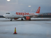 Our plane at Ivalo Airport, Lapland