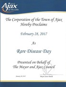 Proclamation (Town of Ajax) 2017