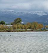 Snowy Paros - Flamingo Psaralyki Antiparos