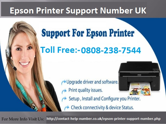Epson Printer Support Number UK