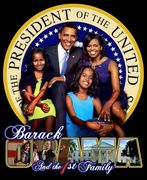 The Obama First family