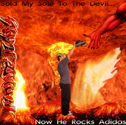Sold My Sole To The Devil... Now He Rocks Adidas