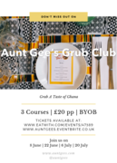 Aunt Gee's Ghanaian Grub club