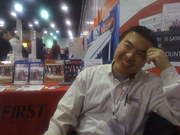 Johnny Yuen in UFIRST expo booth