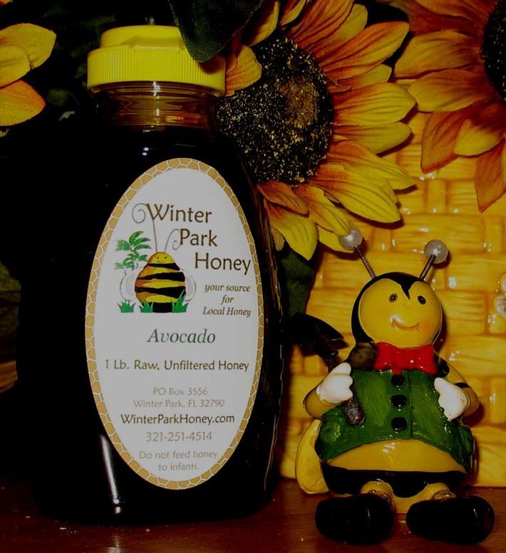 Unprocessed, Raw, Avocado Honey