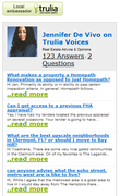 My Trulia blog
