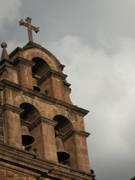 Detalle Campanario Catedral de Cuzco, Peru