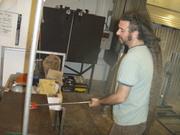 Art Glass tour blows at Keila's