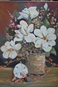Magnolia with Sea Urchine