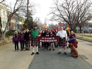 Pictures at start of XMas Walk Parade Dec 1 2012