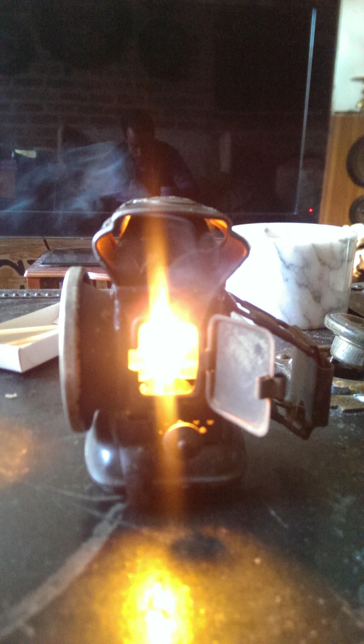 Pre1900's Joseph Lucas LTD Oil Burning Bike Lamp