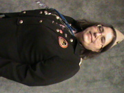 In my Toy Soldier jacket