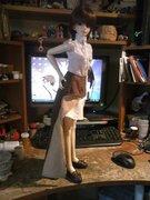 Sakura's new steampunk outfit. 3