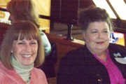 Anne Leonard and Nancy Taylor