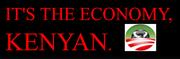 It's The Economy, Kenyan.