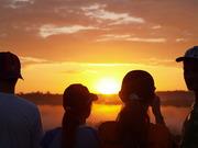 nascer do sol Amazonia